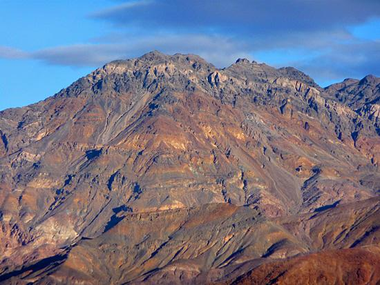 View of the Grapevine Mountains from the Kit Fox Hills