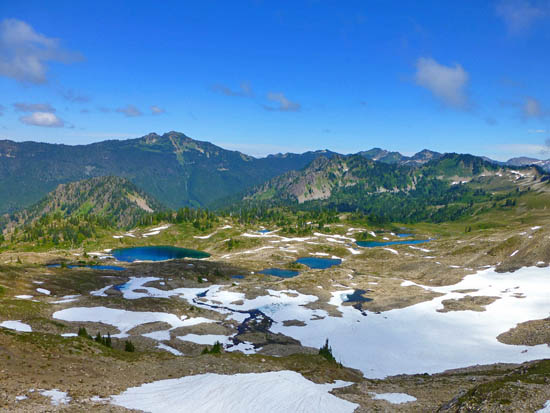 The Seven Lakes Basin - High Divide Loop