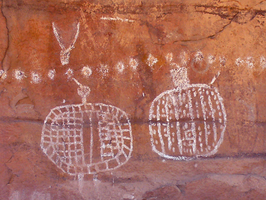 Pictograph in Canyonlands National Park